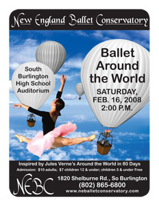 Ballet Show Poster