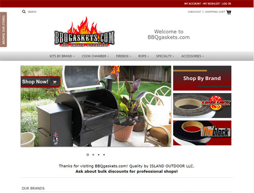 BBQ Gaskets Ecommerce Website