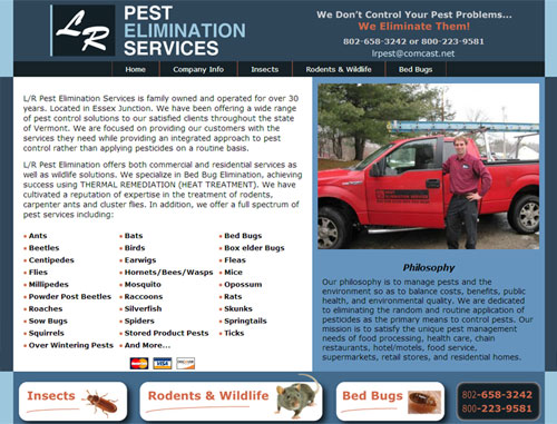 LR Pest Website
