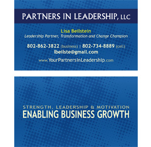 Partners In Leadership Business Cards