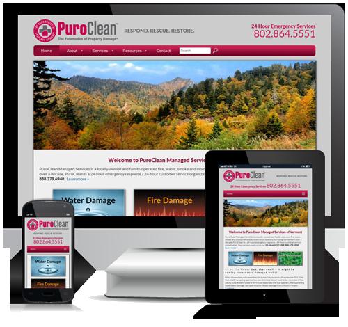 Puroclean Responsive Website