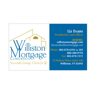Select Mortgage Professional Business Card Design