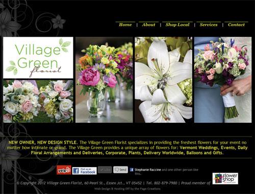 VG Florist Website