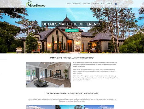 Adobe Homes Website