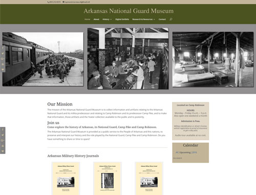 National Guards Museum Website
