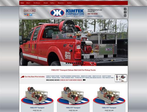 Kimtek Research Brushtruck Website