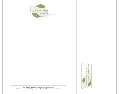 Compostable Goods Stationery