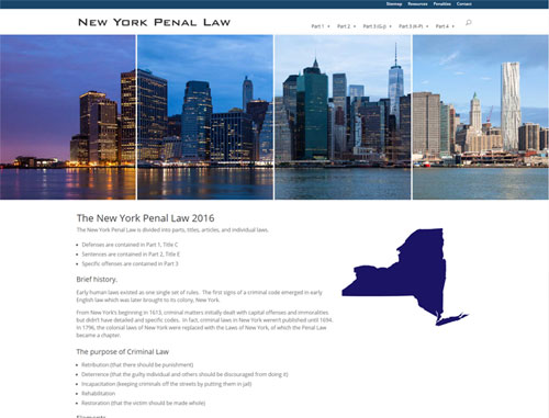 New York Penal Law Website