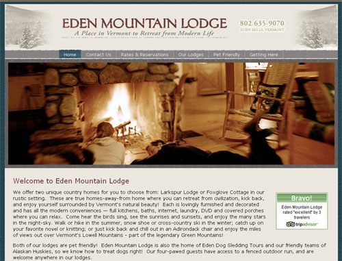 Eden Mountain Lodge
