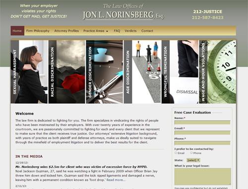 Employee Justice Legal Website