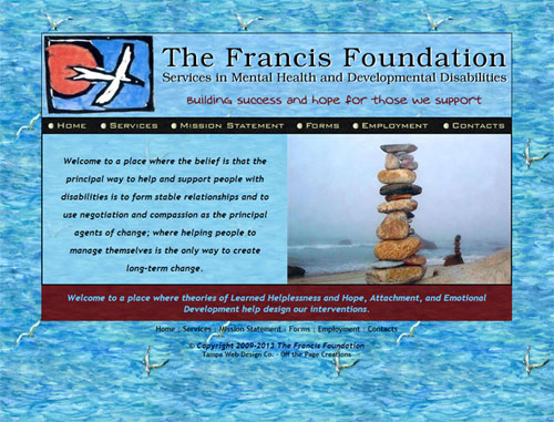 Francis Foundation Website