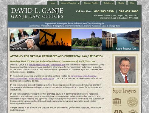 Gange Law Website