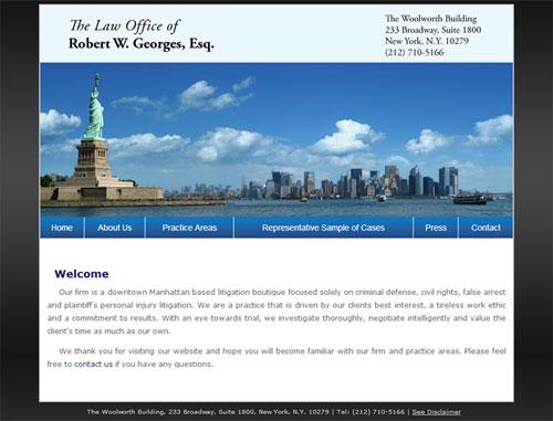 Georges Esq. Website