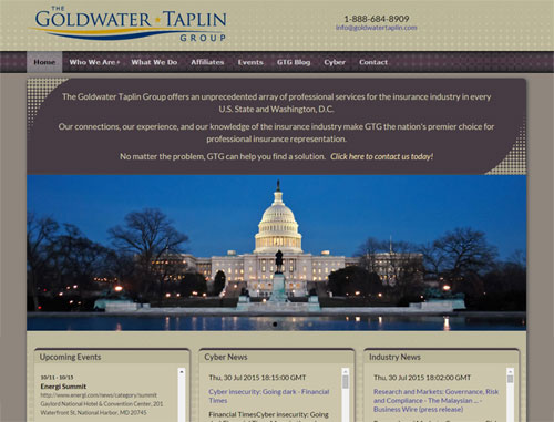 Goldwater Taplin Website