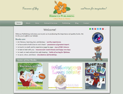 Hibiscus Publishing Website