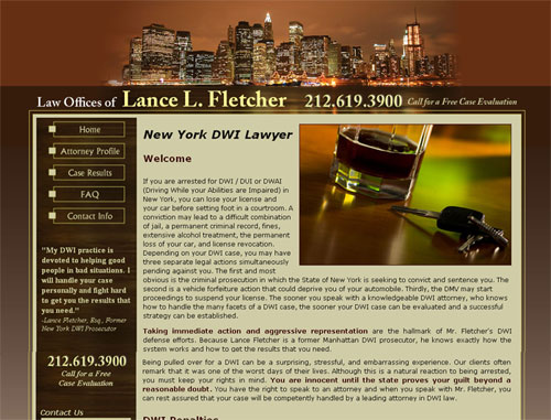Lance Fletcher Website
