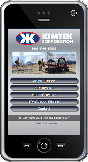 Kimtek Research Mobile Site