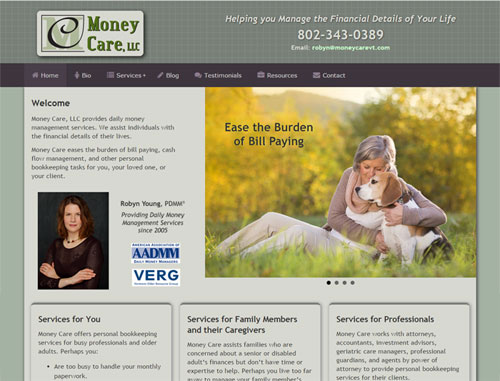 Money Care Website