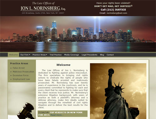 Norinsberg Law Website