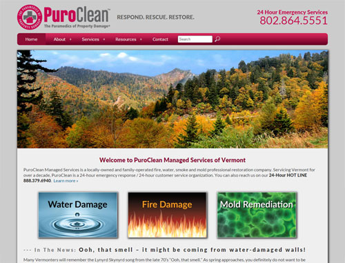 Puroclean Website