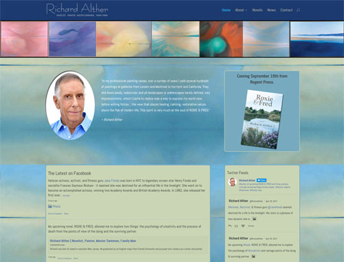 Richard Alther Author Website