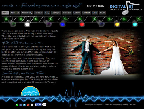 Digital DJ Website