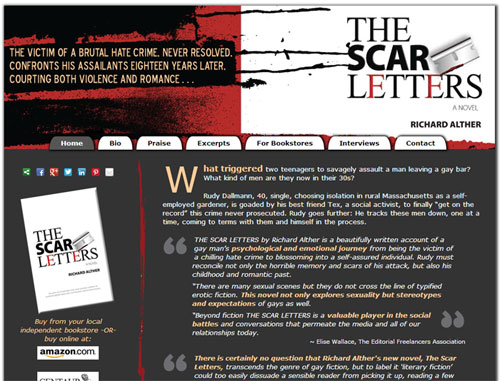 The Scar Letters Book Website