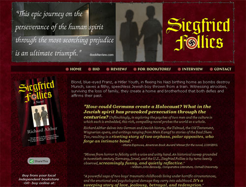 Siegfried Follies Book Website
