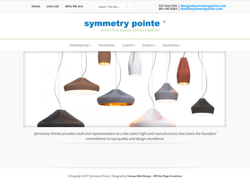Symmetry Pointe Furniture Website
