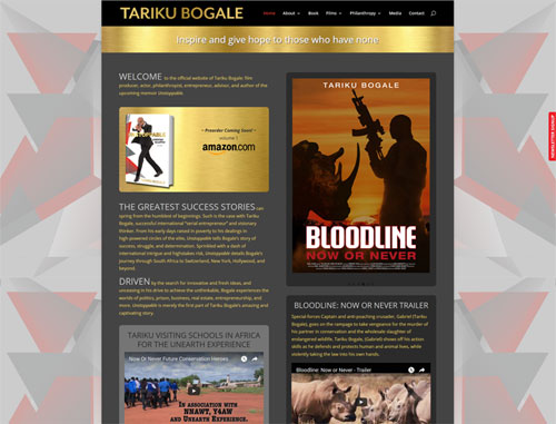 Tariku Bogale, Actor and Author Website