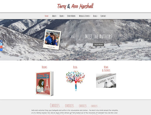 Terry & Ann Marshall Author Website