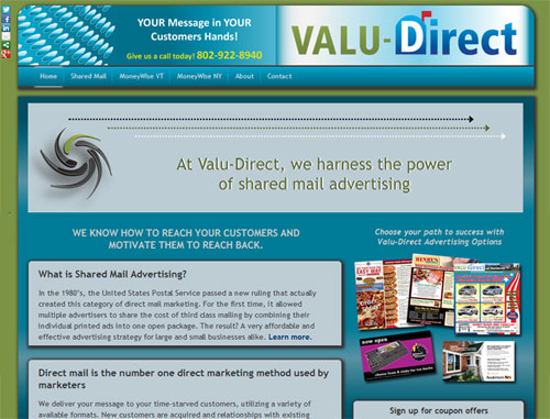 Valu Direct Website