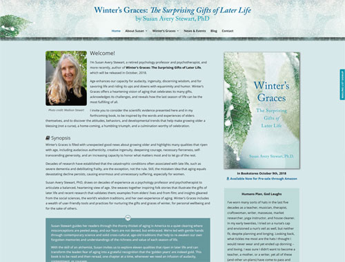 Winter's Graces Book Website