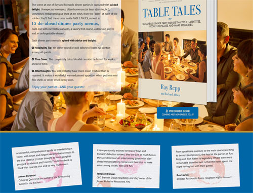 Table Tales Book Website