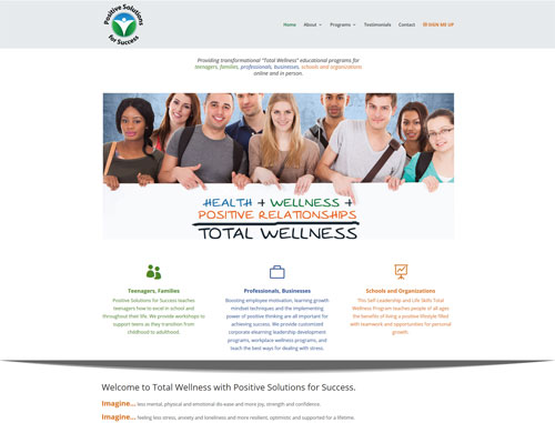 Positive Solutions for Success website