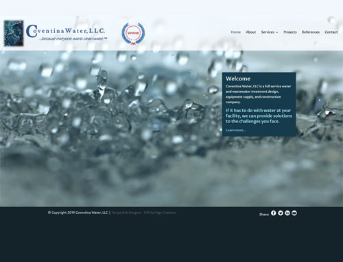 Coventina Water Website