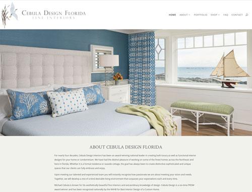 Diane Weir Interior Designer Website