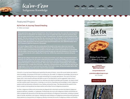 Kamtem Indigenous Knowledge Website