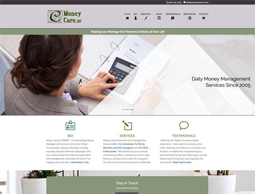 Money Care Website