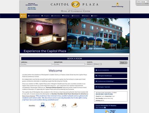 Capitol Plaza Hotel Website