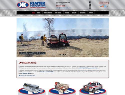 Kimtek Research Website
