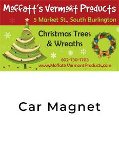 Moffatts Car Magnet