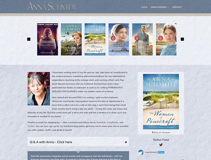 Jo Schmidt Author Website