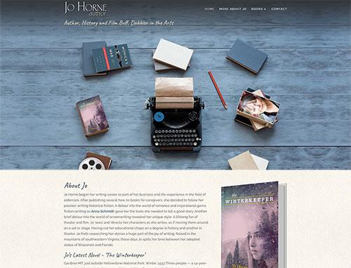 Jo Horne Author Website