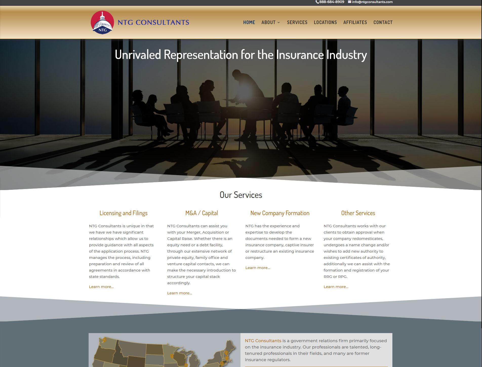 NTG Consultants Website