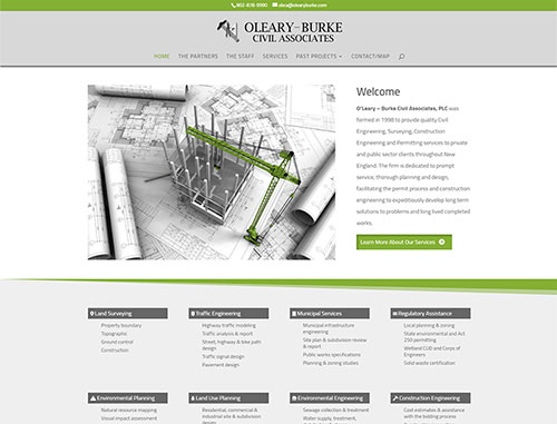 O'leary Burke Website