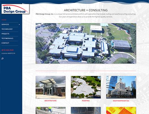 PBA Architecture & Consulting Site