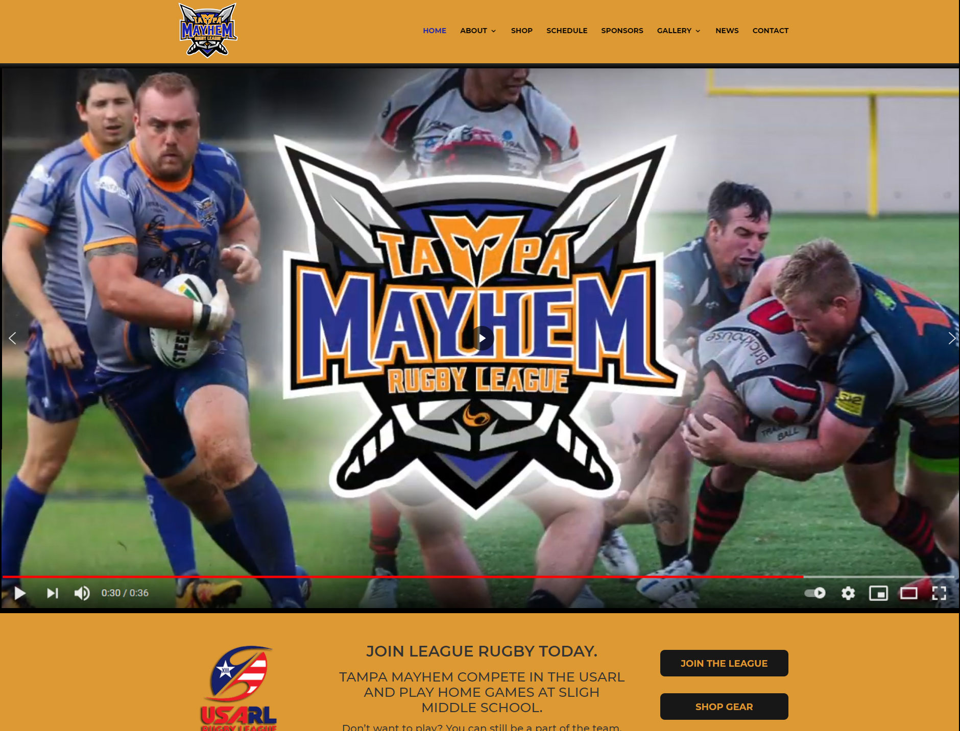 Rugby League Website
