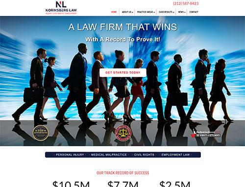 Norinsberg Law Website