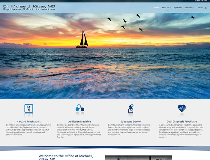 Dr. Kittay Psychiatrist & Addiction Medicine Website